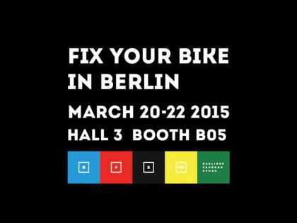 Fix Your Bike | Berliner Fahrradshau